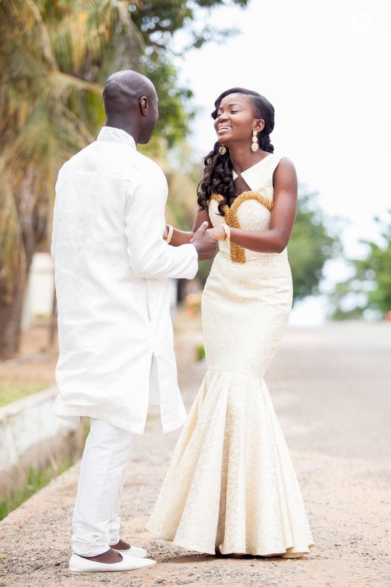 Traditional wedding dress Dabua Serwa   Traditional Engagement ...