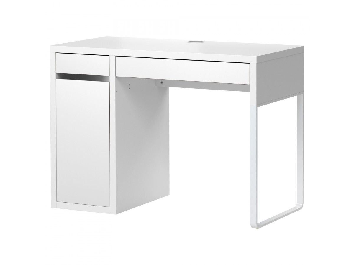 Ikea МИККЕ Письменный стол белый Стол office