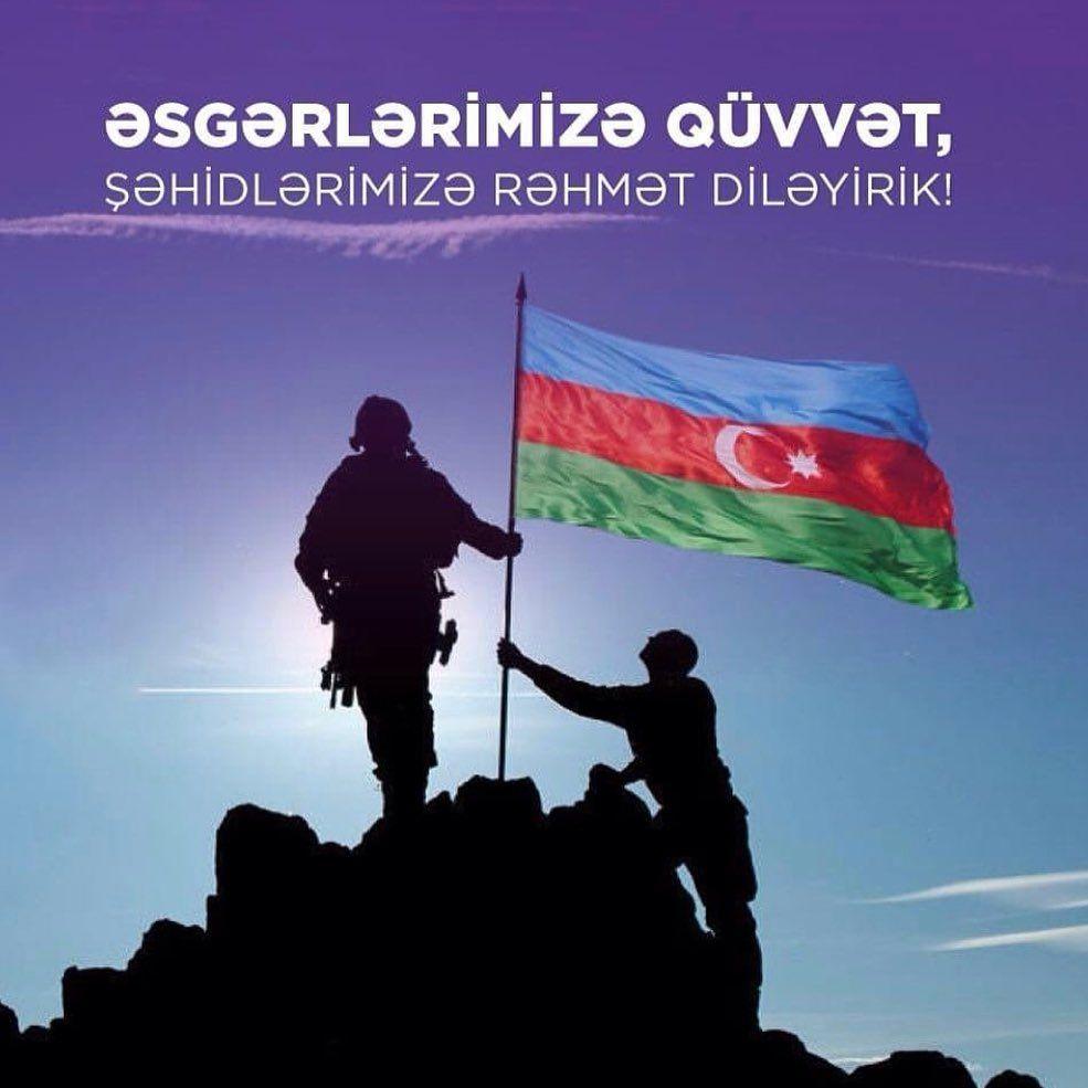 əsgərlərimizə Quvvət Azerbaijan Flag Galaxy Wallpaper Azerbaijan