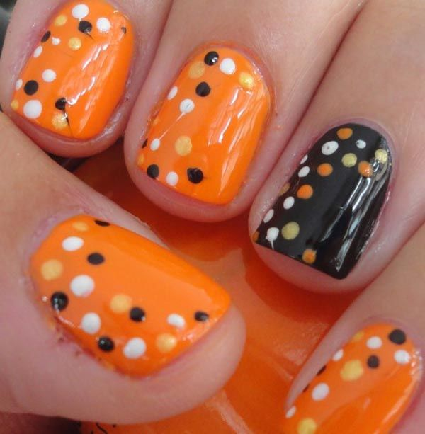 18 pics of halloween themed nail art bajiroo nails pinterest 18 pics of halloween themed nail art bajiroo prinsesfo Images