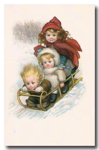 3 cartes vintage enfants - Page 9