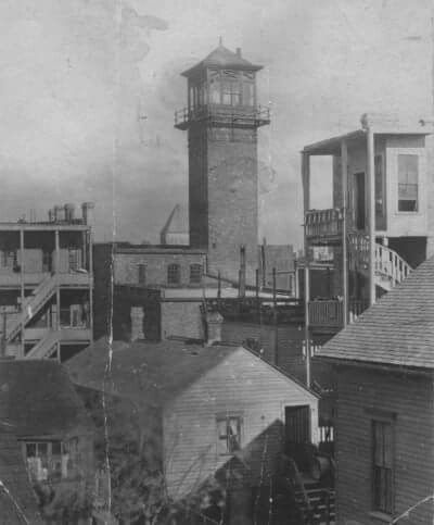 1896 Chicago lake wood fire tower