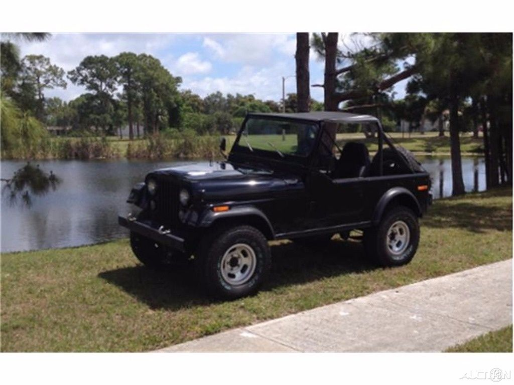 1976 Jeep CJ-7 J6A93EH037220 - OwnersList.Net