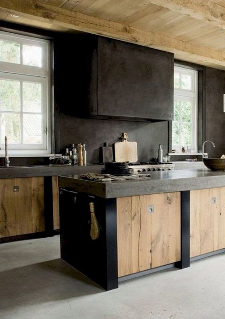 Best 57 Amazing Contemporary Kitchen Cabinets Remodel Ideas 400 x 300
