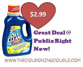 graphic regarding Oxiclean Printable Coupon known as Reasonably priced OxiClean @ Publix ~ Fresh Printable Coupon Retail store Commercials
