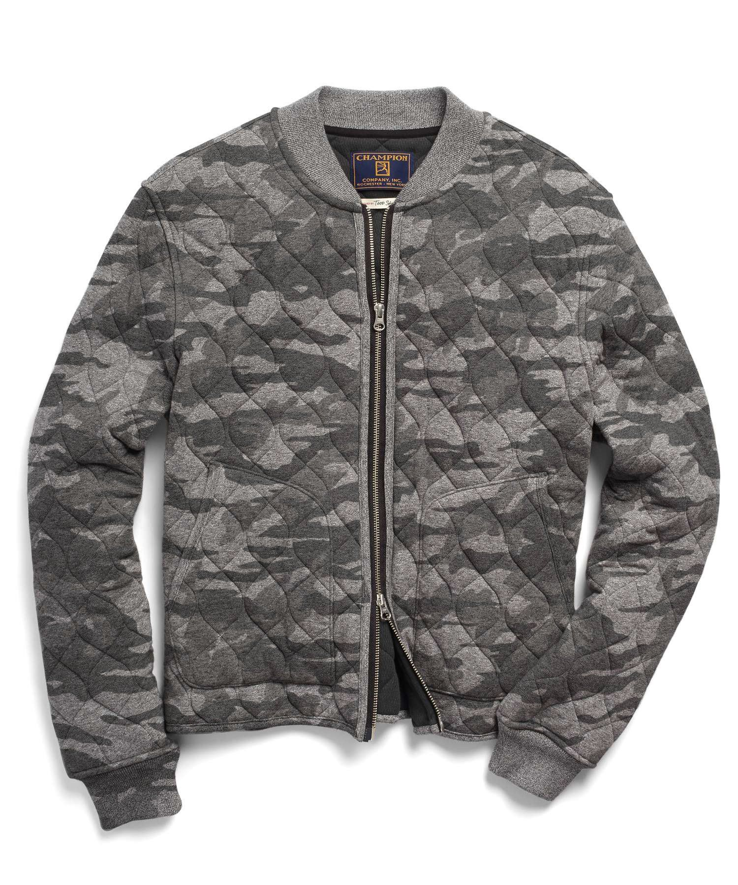 2cc7c632f4f51 TODD SNYDER Quilted Bomber in Camo. #toddsnyder #cloth # | Mens ...