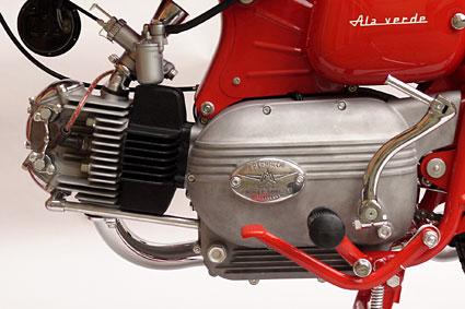 #aermacchi ala verde #engine