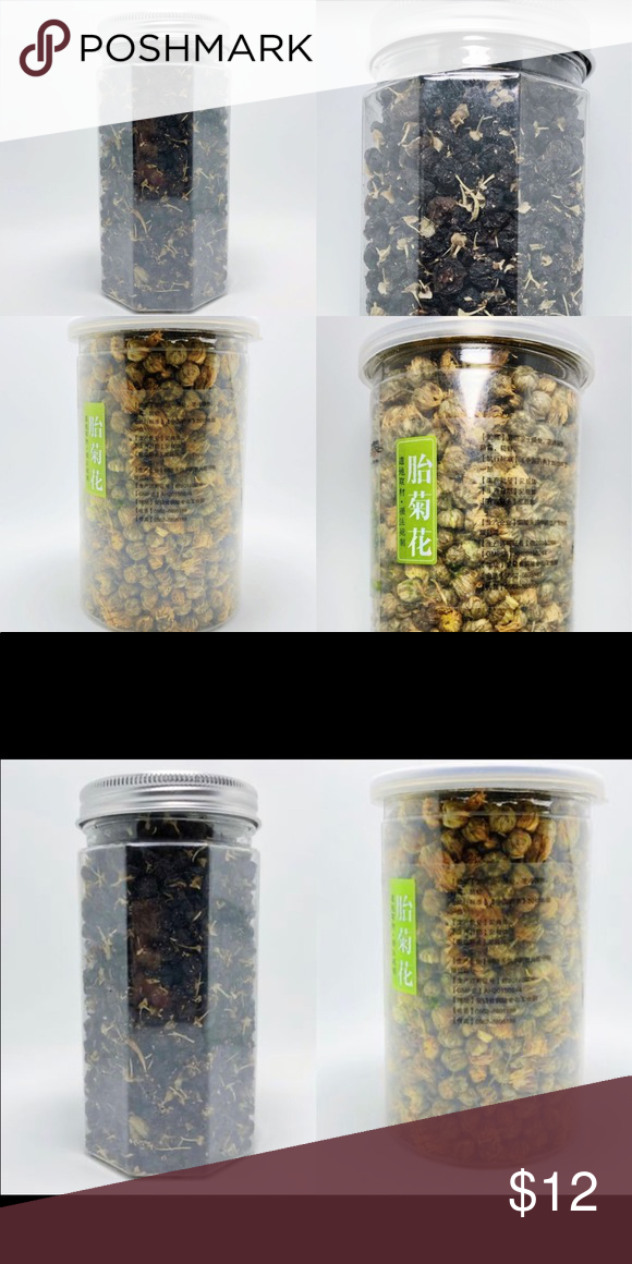 Chamomile Tea 80g Black Goji Berry 50g Herbal Chinese Chamomile