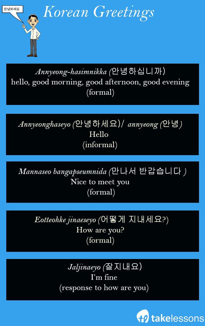 How To Pronounce Hello In Korean