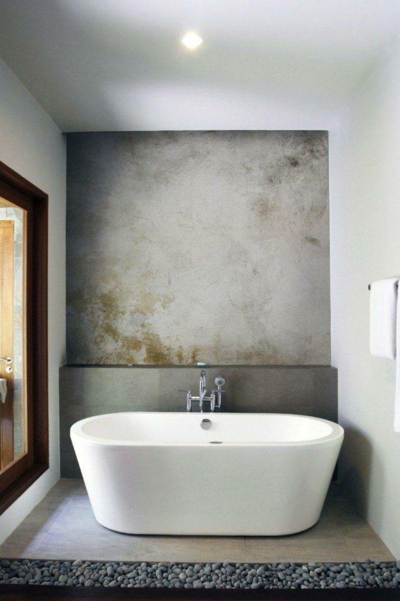 Bad Ohne Fliesen Oder Das Badezimmer Mal Anders Gestalten Concrete Bathroom Design Concrete Bathroom Industrial Bathroom
