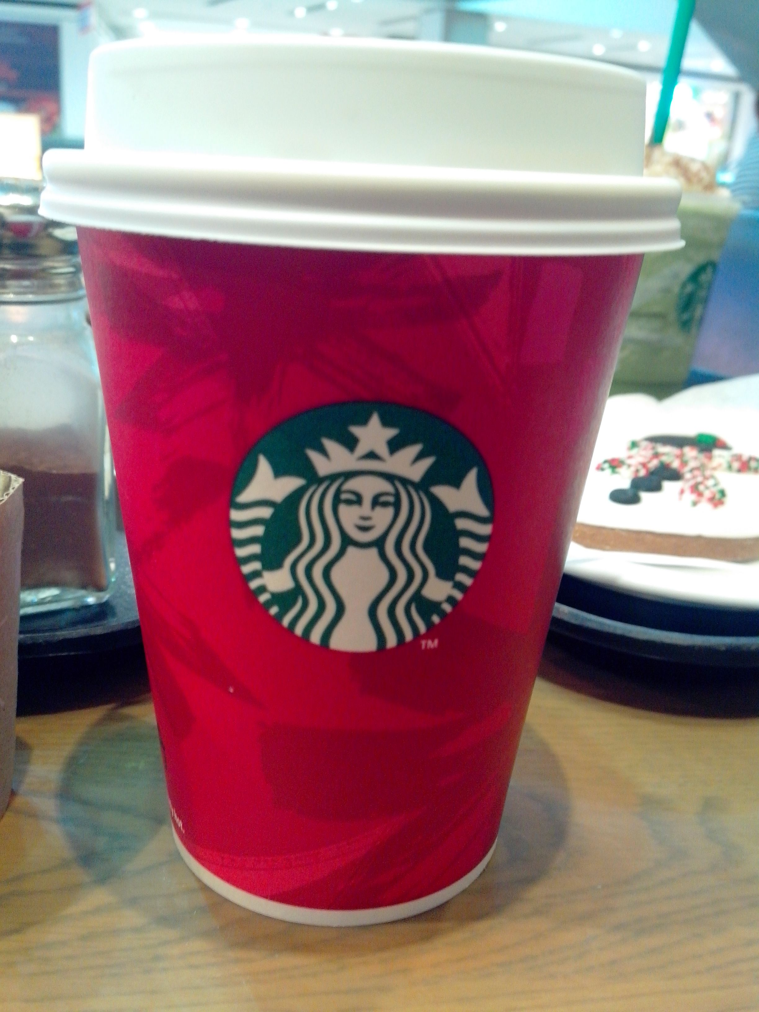 merry christmas from starbucks - Starbucks Merry Christmas