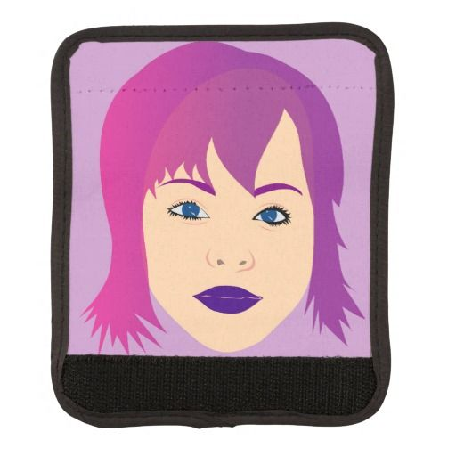 Purple Chick For Invisible Illness Awareness Handle Wrap