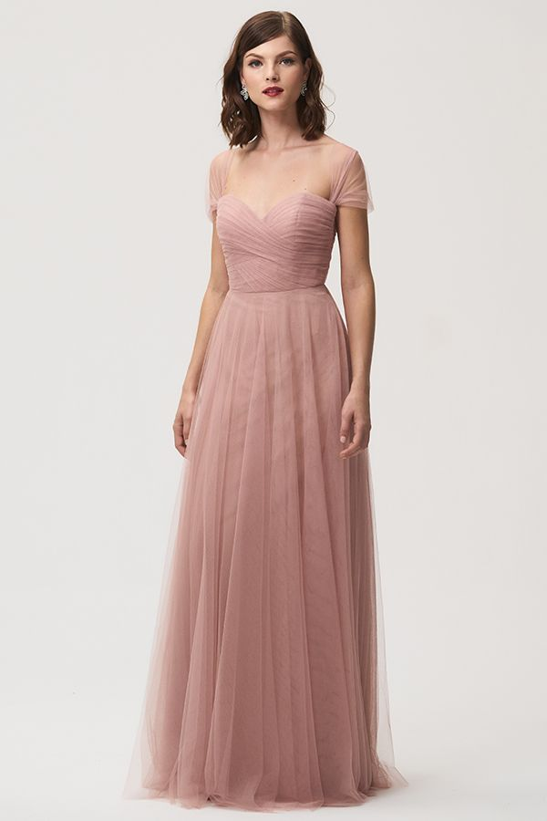 88f1ac16dab Jenny Yoo Bridesmaids, the convertible Julia dress features back tie ...