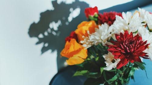 احلى بوكيه ورد احلى واجمل بوكيه ورد 2020 Zina Blog Red Flower Bouquet Flower Pictures Flower Images