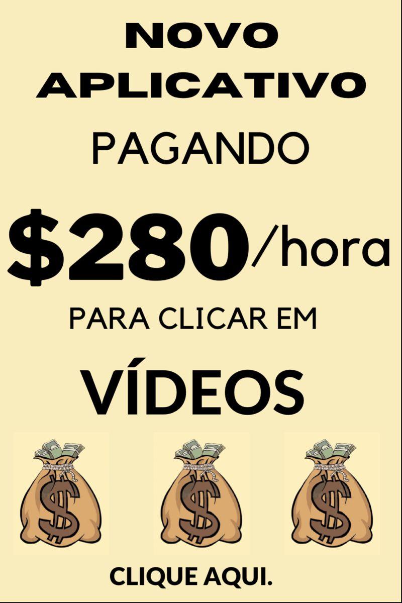 Ganhe dinheiro online clicando em vídeos