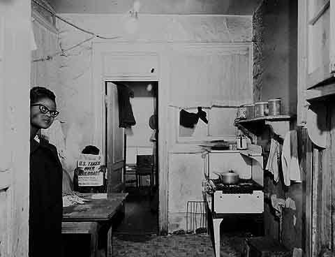 Mrs Elizabeth Fogle In The Kitchen Of