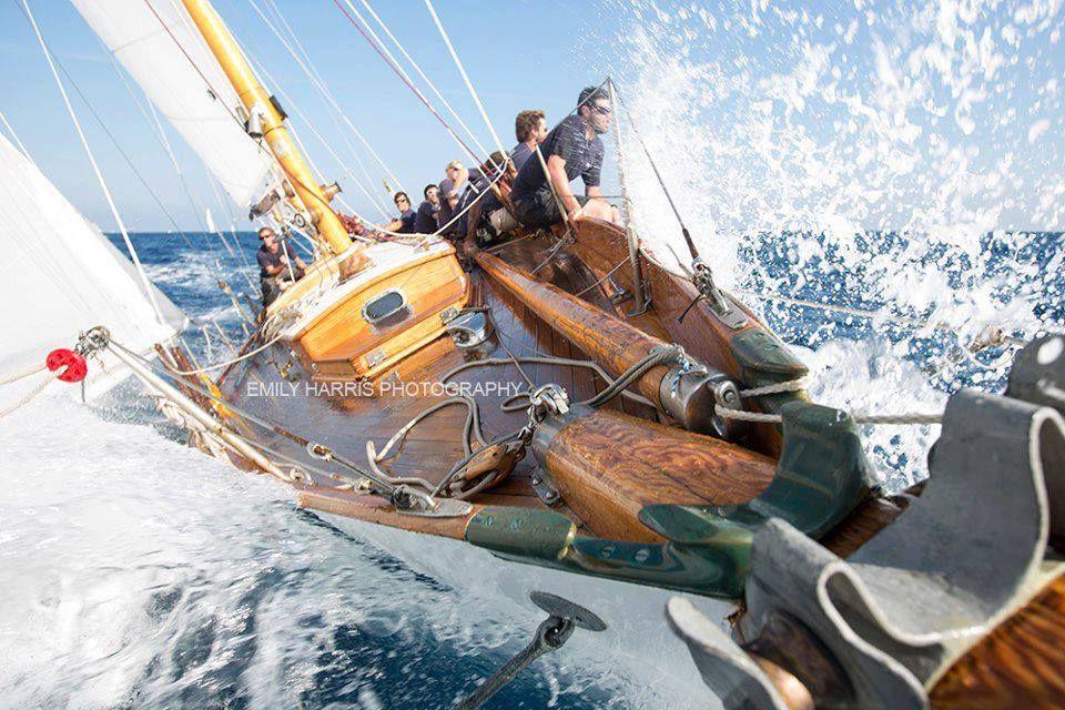Better than any roller coaster ride! Sailing, Sailing