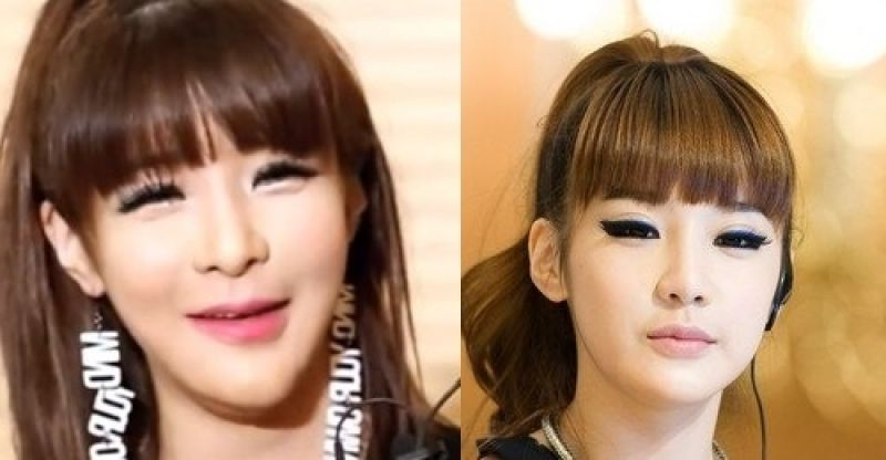 Korean Actress Plastic Surgery Gone Wrong Korean Celebrities Before And After Plastic Surgery Photos Korean Male Actors Without Makeup Kpop Male Idols Without M