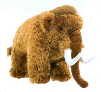 Woolly Mammoth Stuffed Animal Toy Inexpensive For The Size Deer
