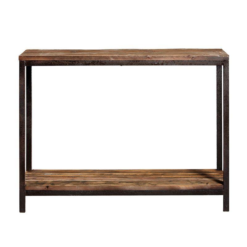 Konsole Raw Eisen Holz Von Nordal 520 00 Badezimmer Konsole