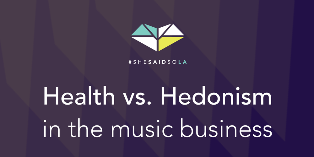 Health vs. Hedonism in the music business http://promocionmusical.es/industria-musica-salud-mental/: