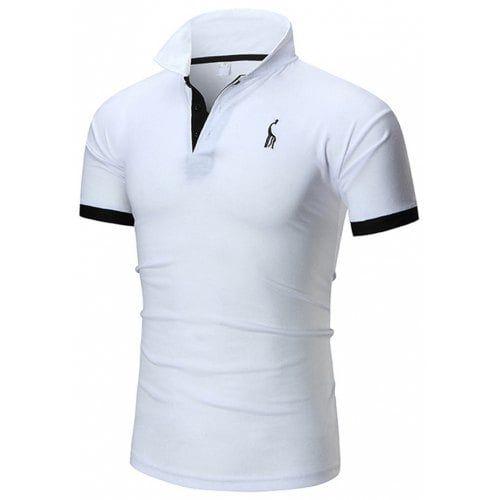 6e57f33f7c 1809A - T23 Men Casual Shirt Deer Print Turn-down Collar -  10.95 Free  Shipping