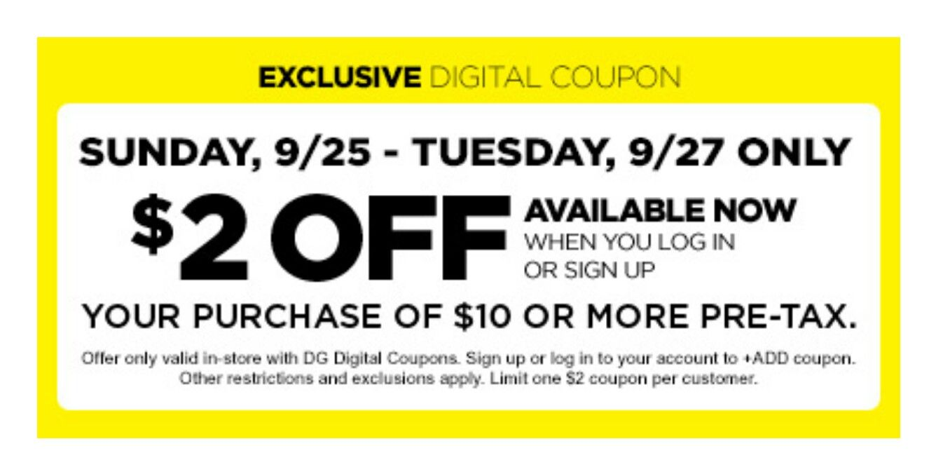 Good Coupon To Download To Your Dollar General Account Dg Digital Coupons Digital Coupons Coupons Freebies