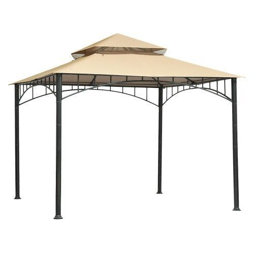 Threshold Madaga 10 X 10 Replacement Gazebo Canopy Cream Gazebo Canopy Gazebo Patio Canopy