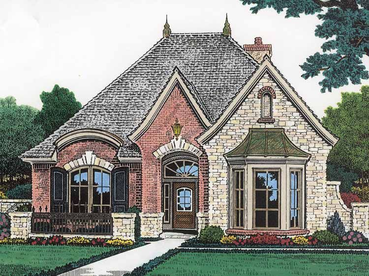 Country Style House Plan 2 Beds 2 Baths 1759 Sq Ft Plan 310
