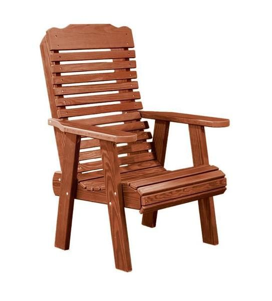Amish Cedar Wood Lounge Chair in 2020   Used outdoor ...