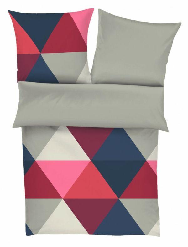Schlafzimmer Einrichten Bettwäsche S Oliver Muster Farbe ... Schlafzimmer Ideen Bordeaux