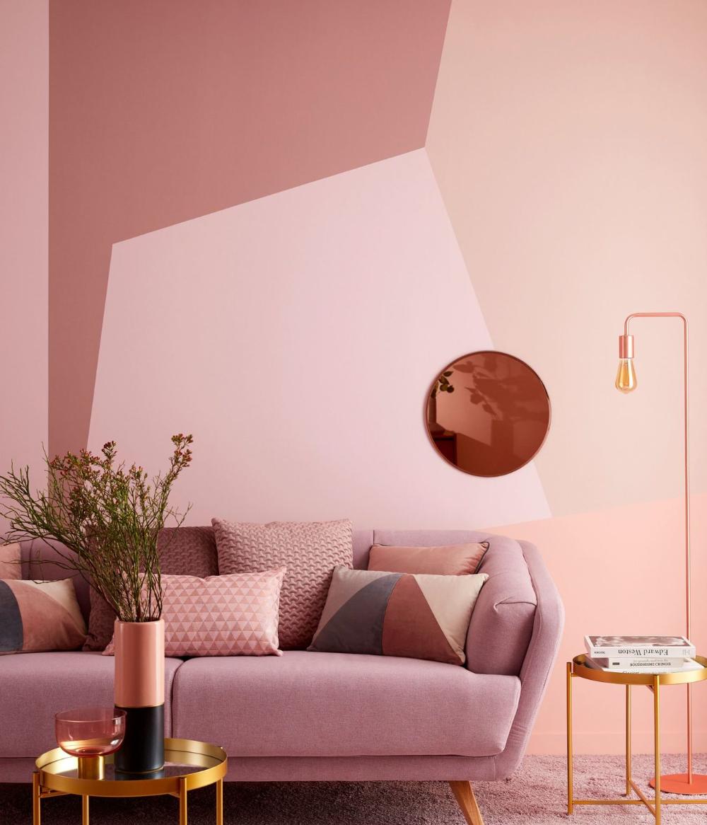 Peinture salon : 18 couleurs tendance pour repeindre le salon en