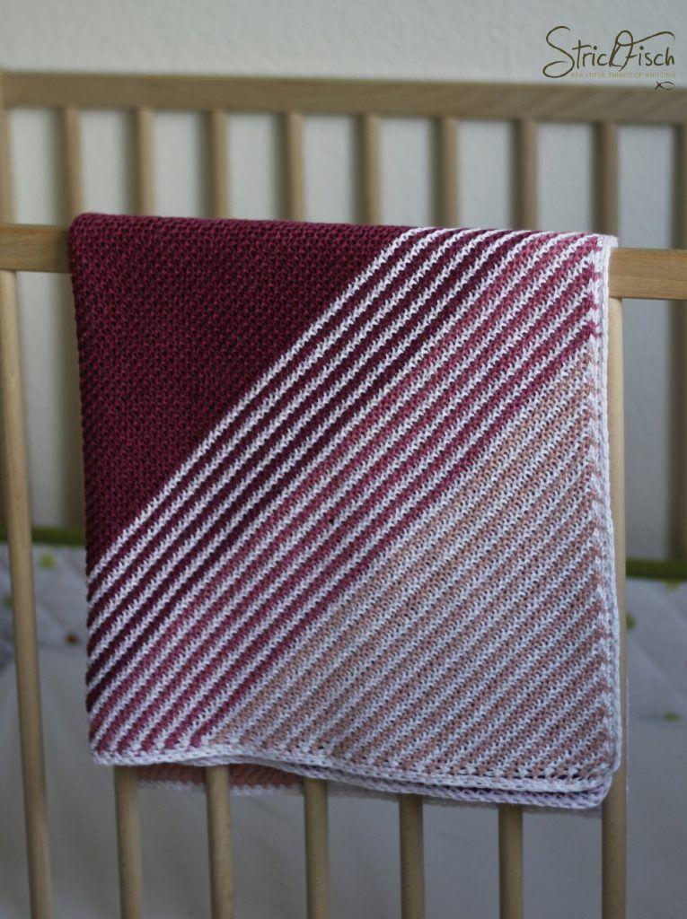 Photo of Einfache Babydecke stricken