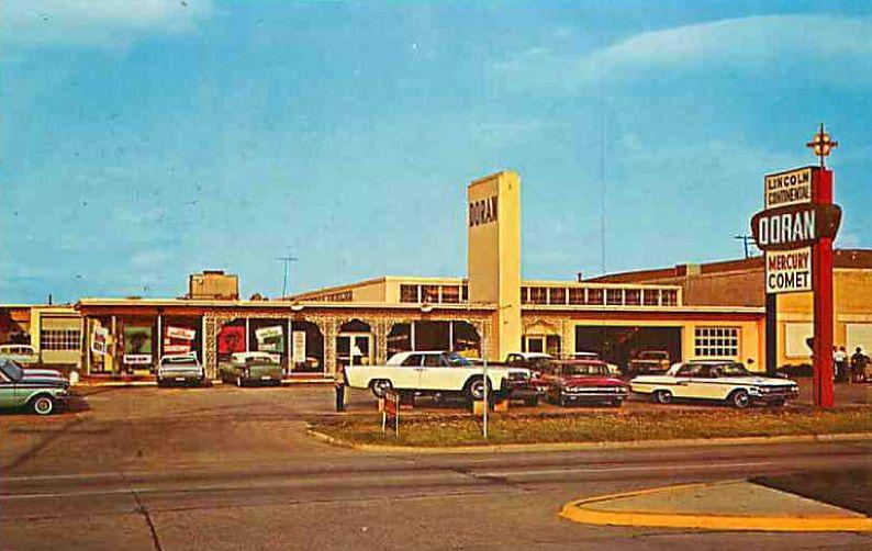 All Sizes Vintage Postcard Doran Car Dealership Lincoln