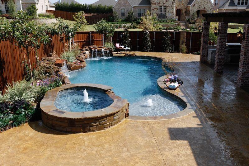 Freeform Pool Designs Mckinney Natural Pool Designs Small Swimming Pools Pool Landscaping Swimming Pool Designs