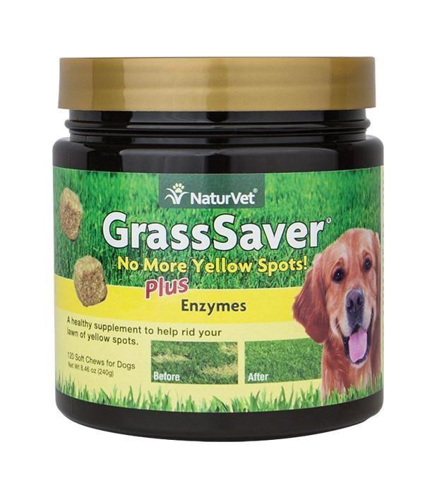 NaturVet GrassSaver Dog Soft Chews 120 ct Dog diapers