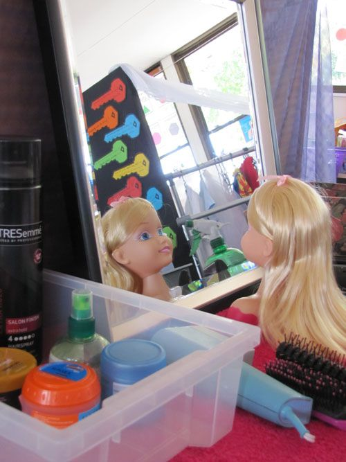 Hairdresser Play Fun Dramatic Play Area For Quot Taking Care