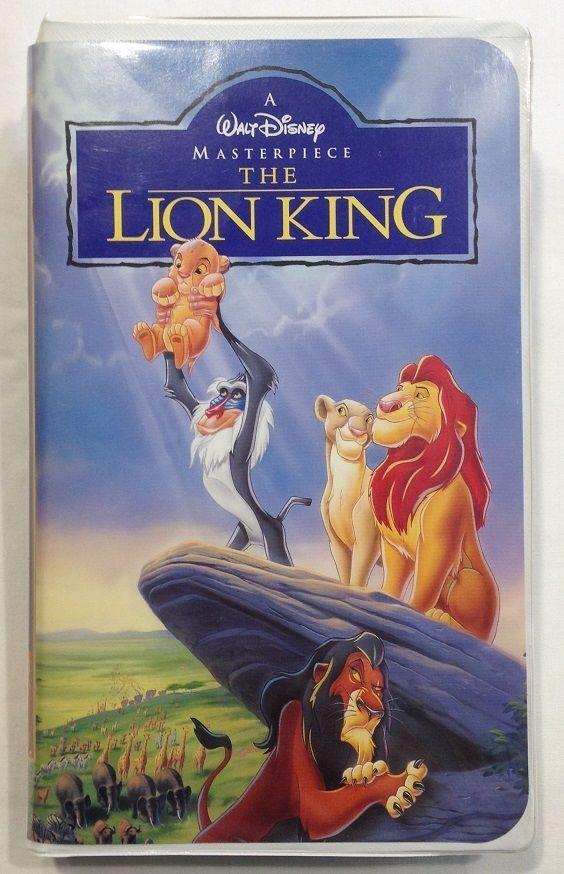 The Lion King (VHS - Tape # 2977) Walt Disney Pictures | DISNEY ...