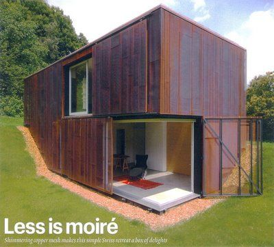 copper mesh clad studio