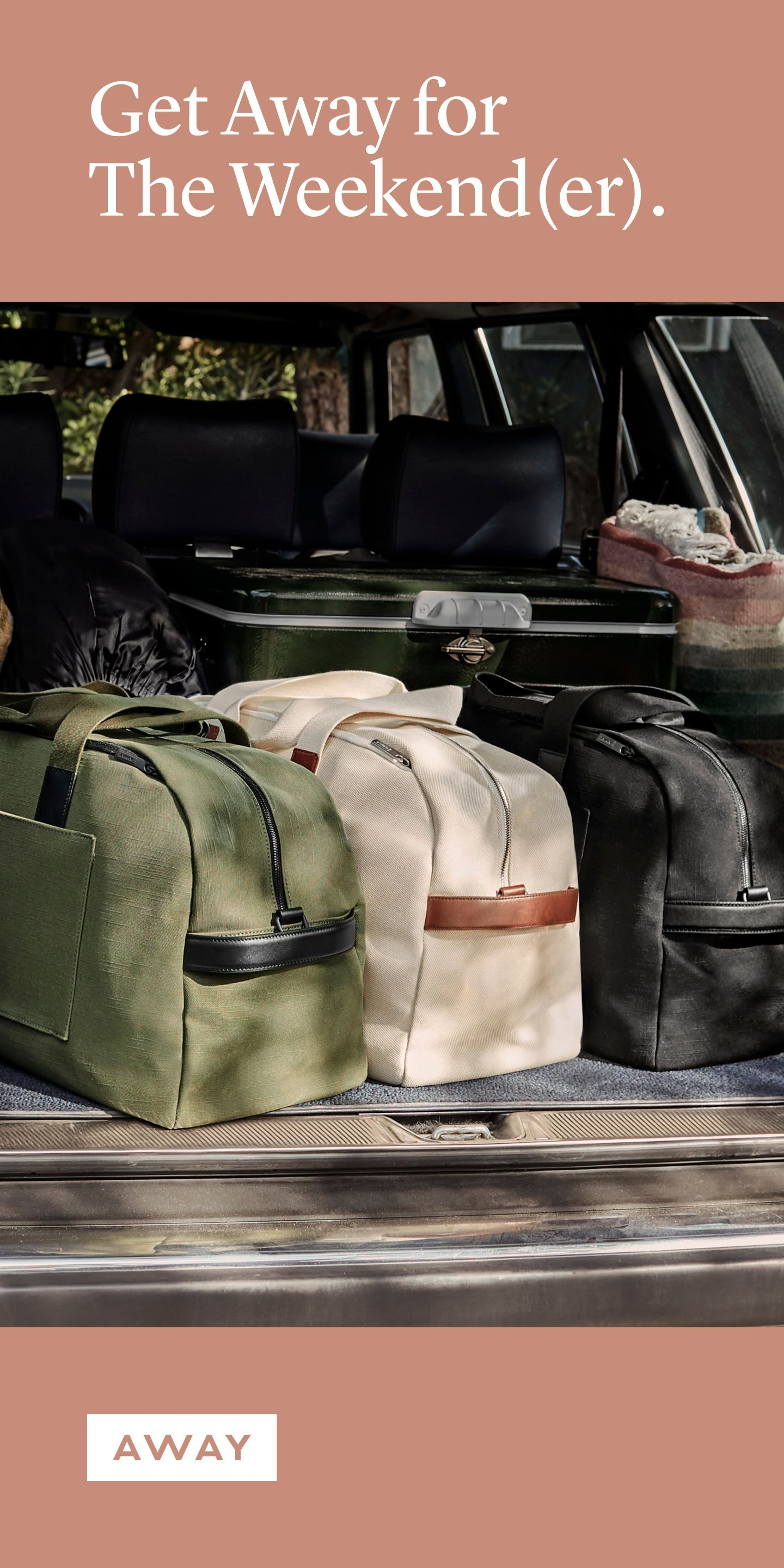 Meet the weekender a modern take on a travel classic