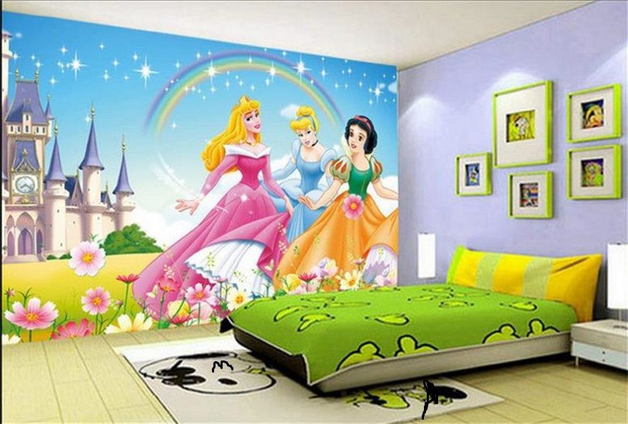 Barbie Wallpaper Kids Room Interior Design Id883