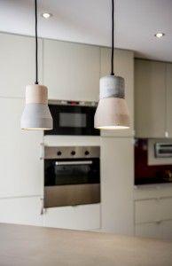 günstige betonleuchte, modernes design - cement wood light bei betoniu