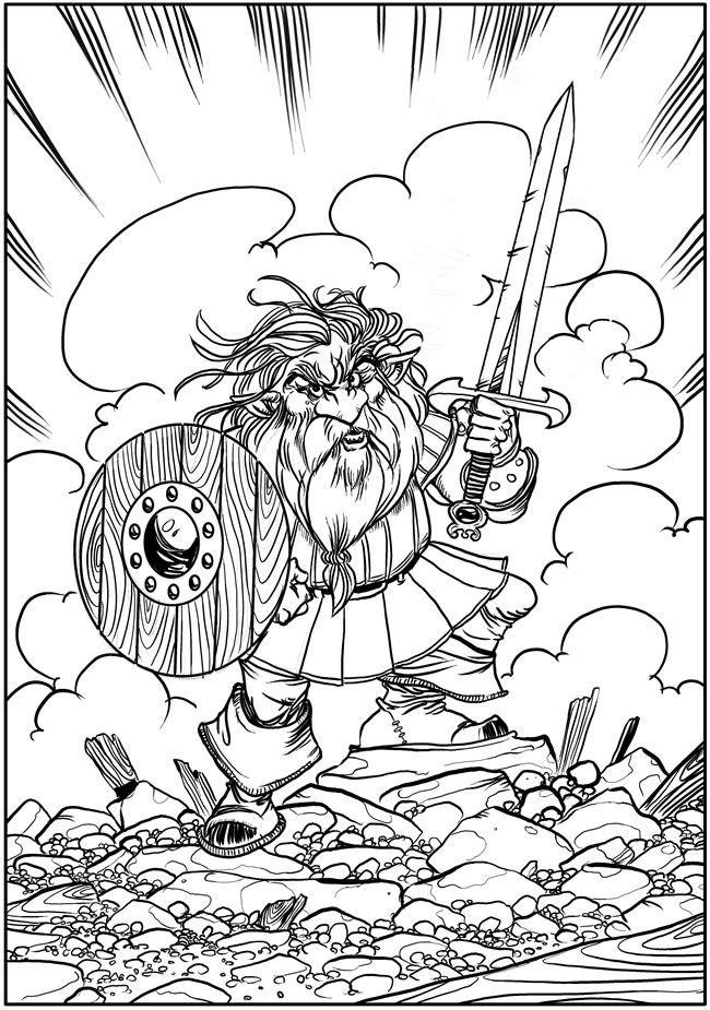 Creative Haven Fantasy Designs Coloring Book Author Aaron Pocock Dover Publications COLORING PAGE 3