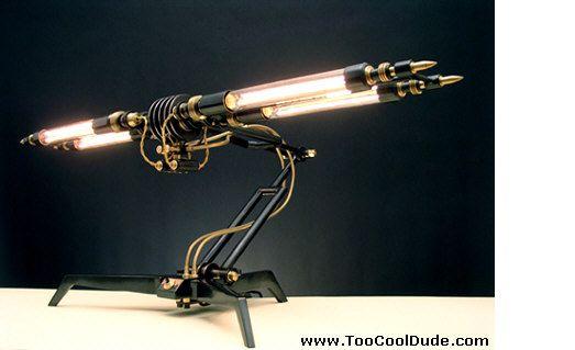 Funky Desk Lamps On Art Deco Retro Futuristic Desk Lamp Too Cool Dude