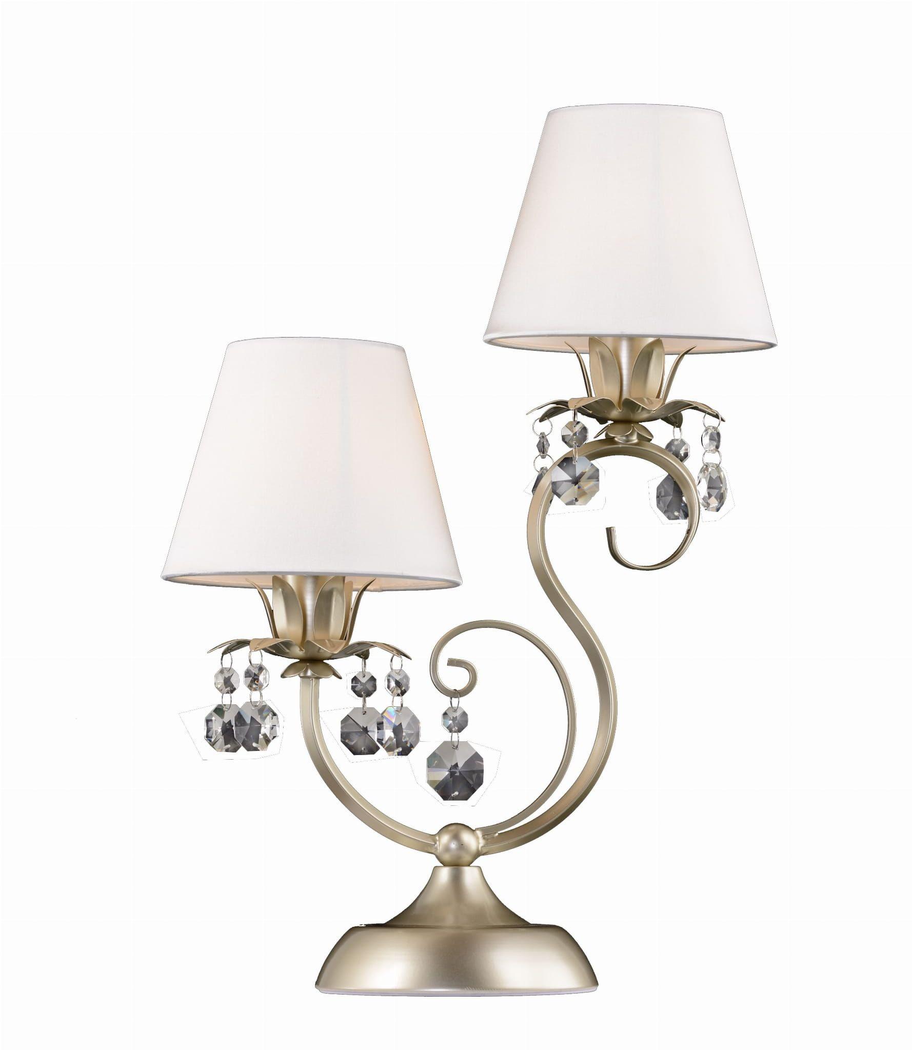 Lampa Stolowa Baron 2x40w Abazury Krysztalki Italian Gold Wall Lights Sconces Home Decor