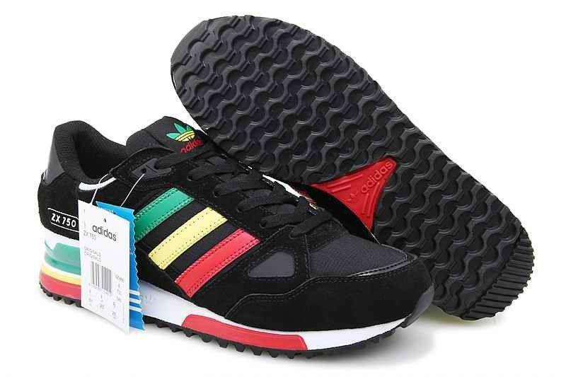 adidas zx 750 nere verdi