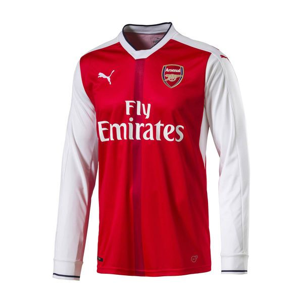 7f9b0309c Arsenal Puma Home Replica Long Sleeve Jersey - Red -  59.99