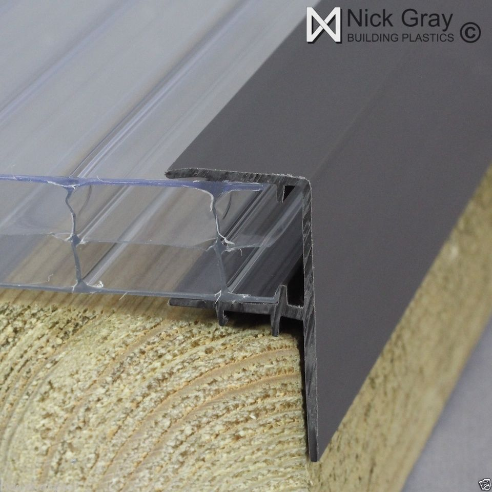 10mm Polycarbonate Glazing Bars and Fixings | eBay ...