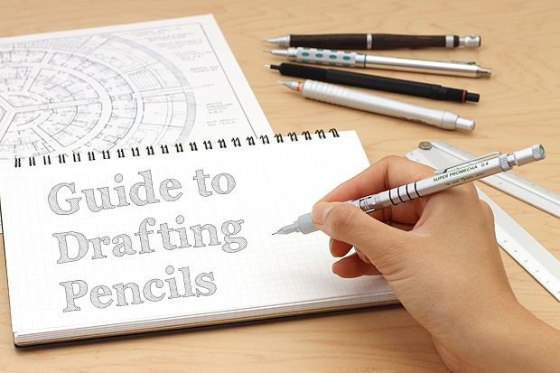 Guide To Drafting Pencils JetPenscom Good To Know Pinterest - Drafting pencil