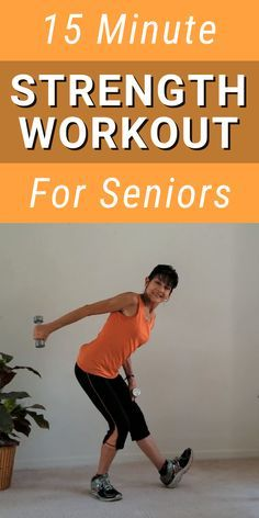 15 Minute Senior Muscle Strengthening Exercise - Fitness With Cindy